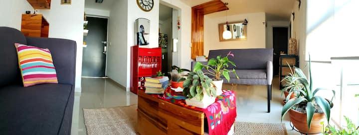Awesome apartment! Two blocks next to La Condesa