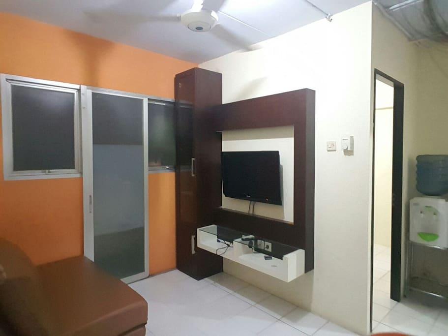living room plus dispenser