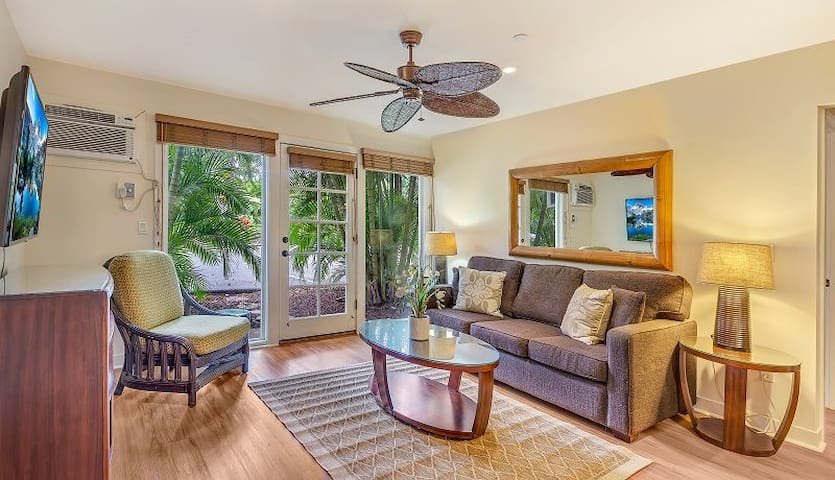 Center of Lahaina 2bd/2ba Air Conditioning