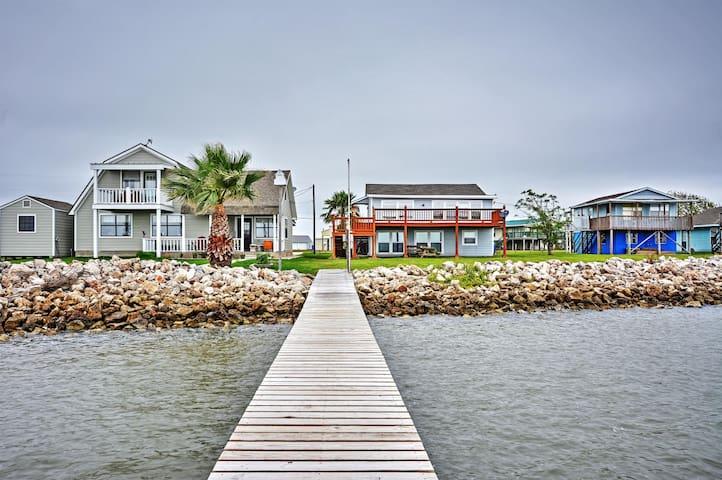 Cozy 3BR Palacios House on Matagorda Bay - Palacios - Hus