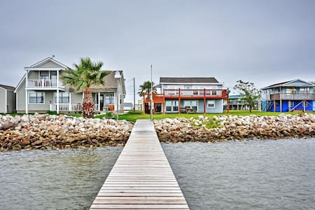 Cozy 3BR Palacios House on Matagorda Bay - Palacios - House