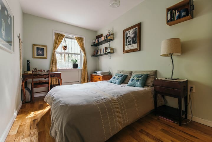 Lovely Bedroom with Yard in Sunset Park