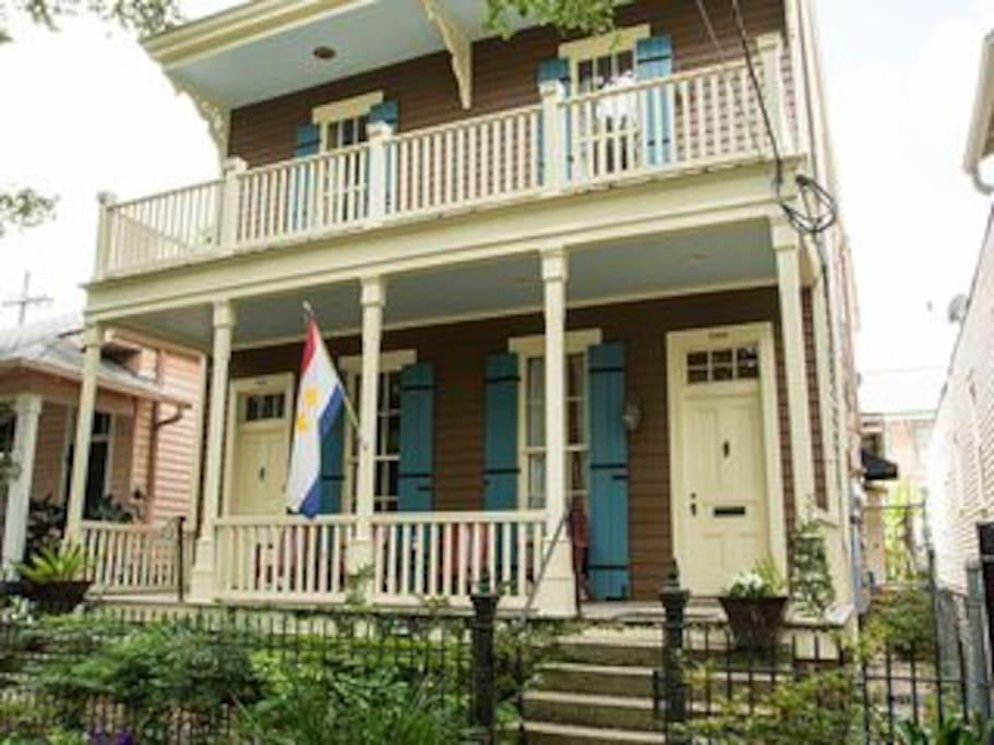 victorian garden district home maisons louer la nouvelle orl ans louisiane tats unis. Black Bedroom Furniture Sets. Home Design Ideas
