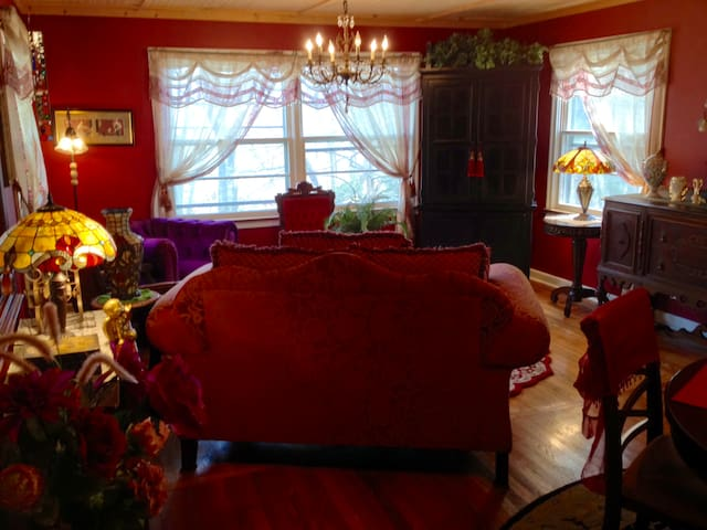 Moon Dreams Cottage, Downtown Historic District - Eureka Springs - Σπίτι