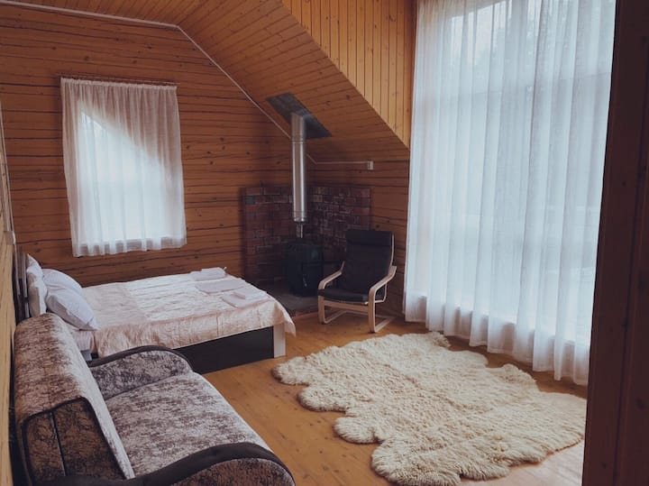 Апартаменты в Аршане на 3х гостей