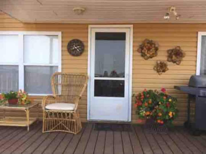Cottage by the sea in New-brunswick