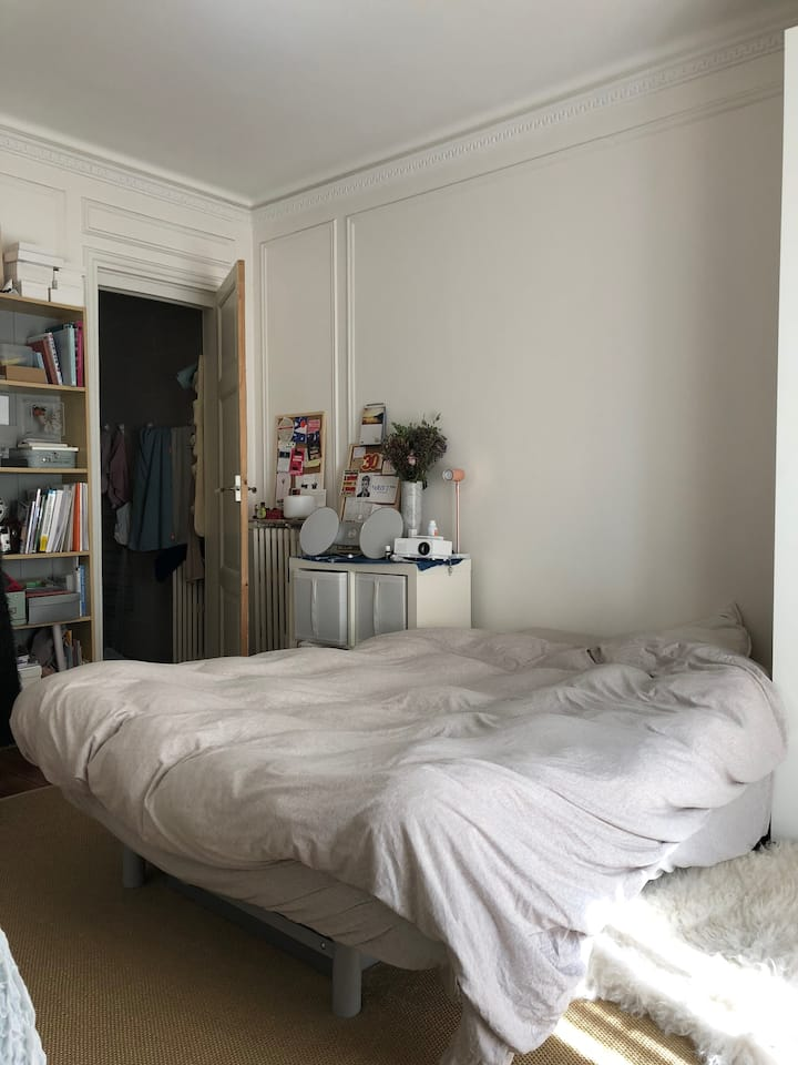 [entire studio] sublet during my travel periods