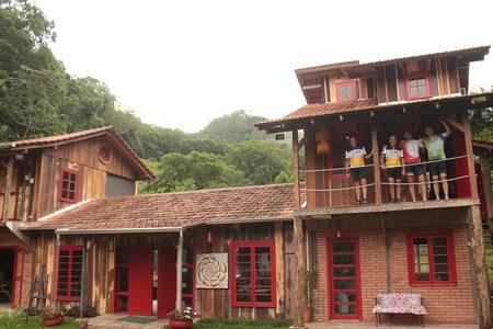 Quinta da Gávea Hostel (Chalé) - Rodeio - Faház