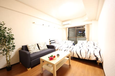 3min walk from Tennoji station:#32 - Ōsaka-shi - Apartament