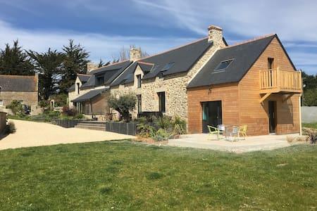 Petite maison dans le Morbihan à 700m de la plage - Plouhinec - Ház