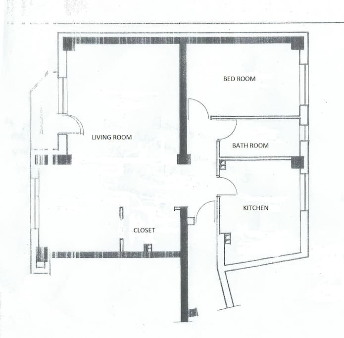 Interior plan situation