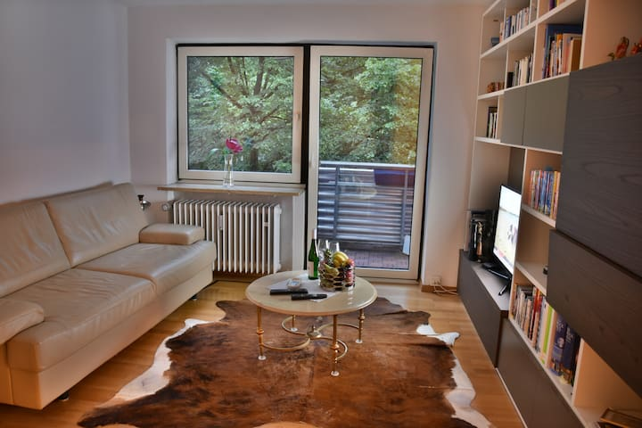 Central and quiet flat (54m², 2 Bedroom) !