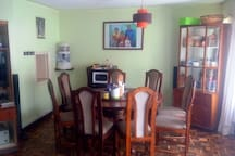 Your dining area