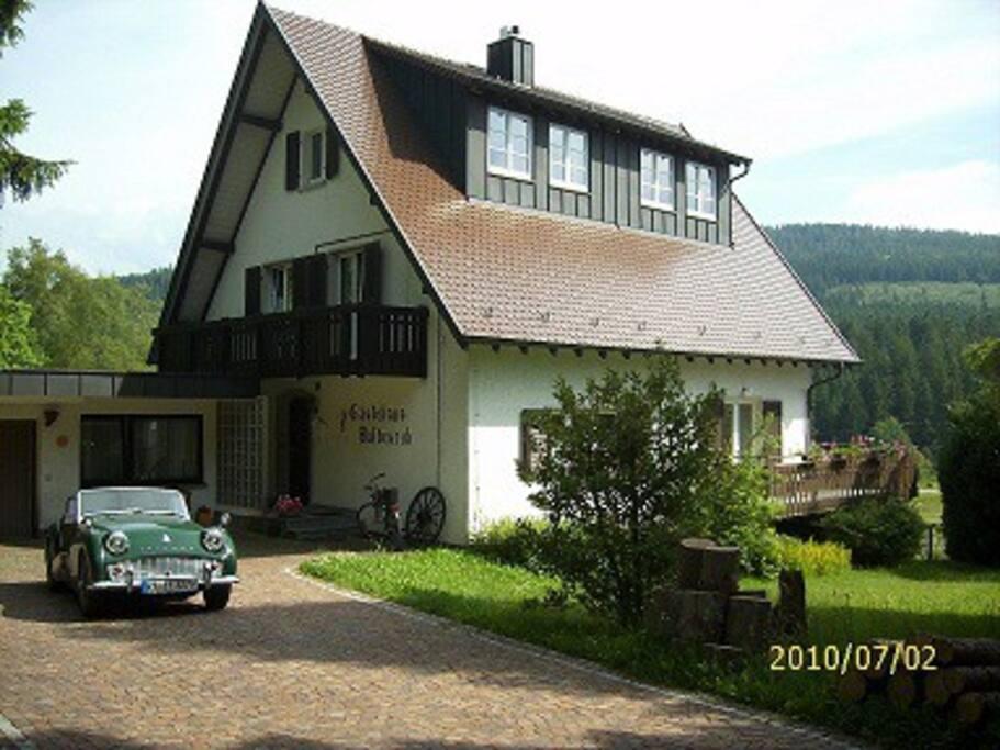 Haus Herrenwies im Sommer