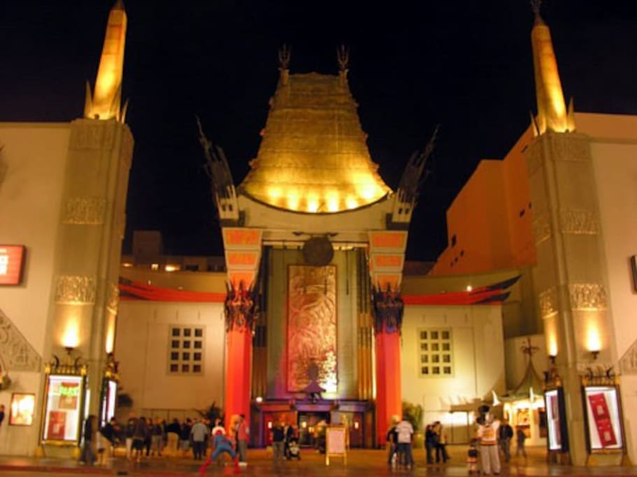 World Famous Grauman's Chinese Theatre.