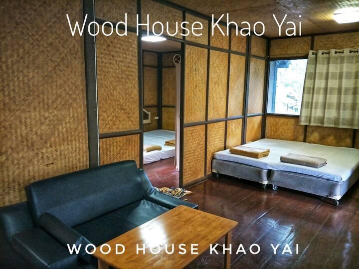 WoodHouse Premium บ้านพัก 3 ห้องนอน 2 ห้องน้ำ