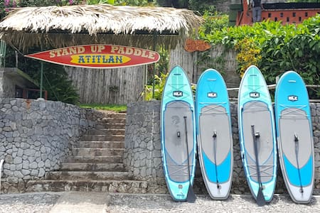 Stand Up Paddle Atitlan Lake Side Guest House