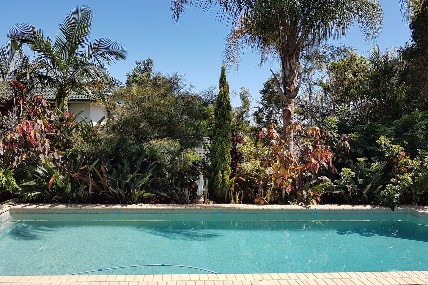 Resort style living in the beautiful Sunshine Coast, with a relaxing Spa and a large swimming pool to cool off.