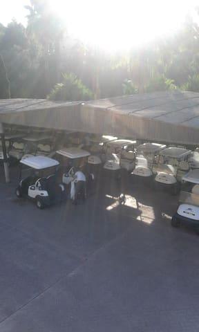Golf Buggy Station