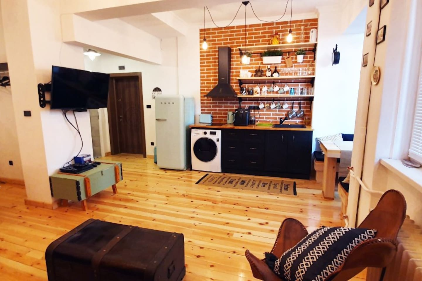 This is your place for quiet rest, work or entertainment right in the middle of where it is in Sofia - only steps from Vitosha blvd yet far enough for a quiet nights' sleep.