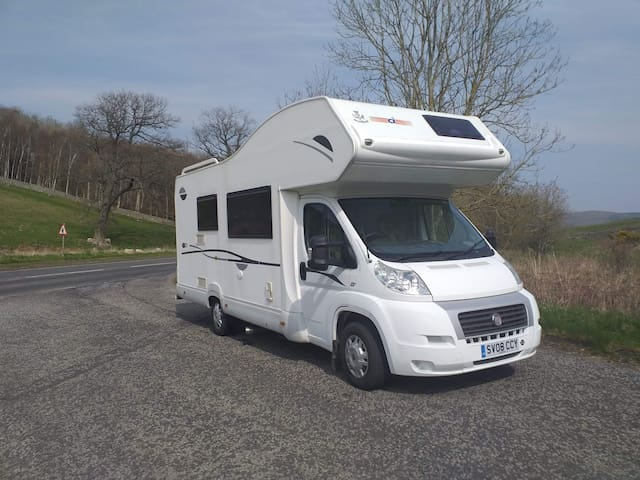 Gala Motorhome Hire at Meigle Rest