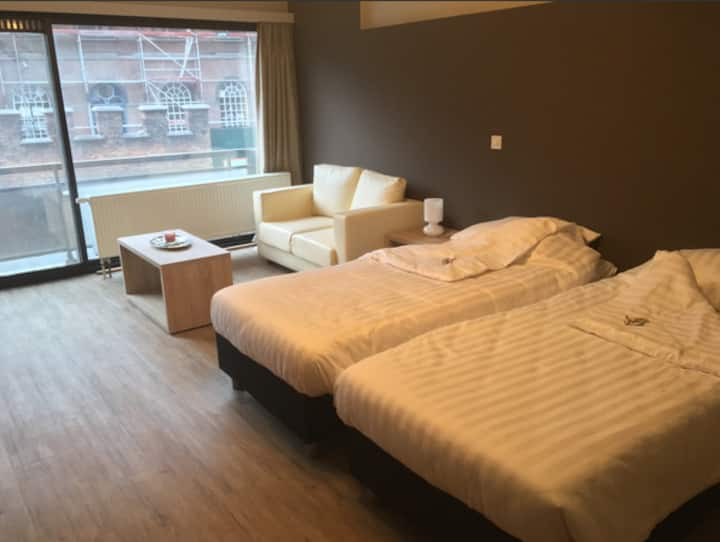 Executive studio twin - Value Stay Mechelen