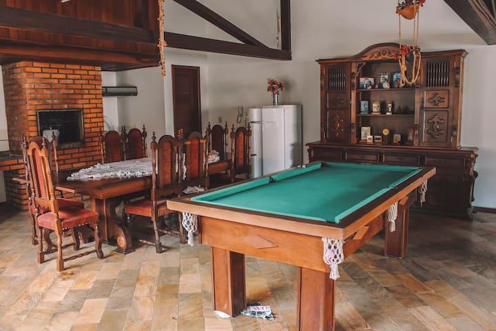 Suite super aconchegante em Floripa em casa enorme