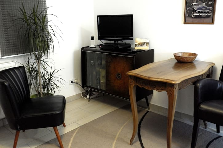 Single-Appartement im Vintagestil, Trier Zentrum - Trier - Daire