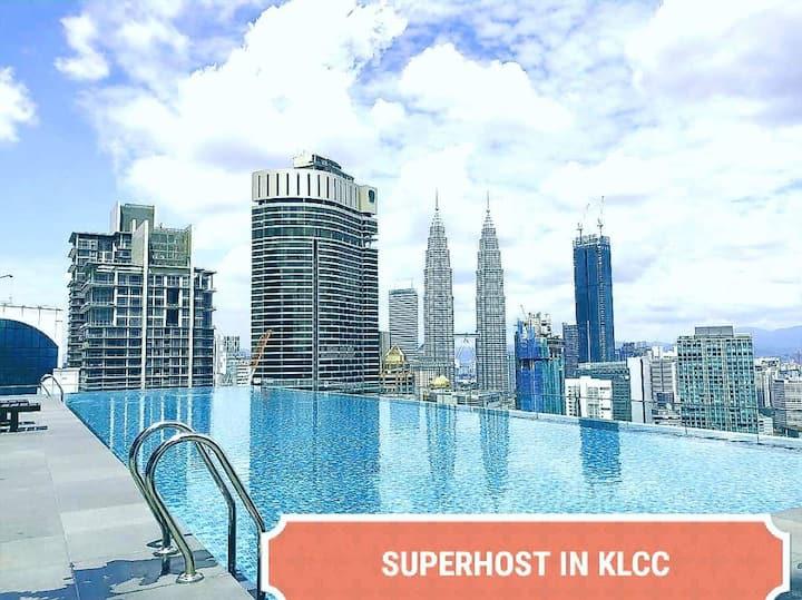 SKY POOL 3 Mins walk to Pavilion@Bukit Bintang Z6