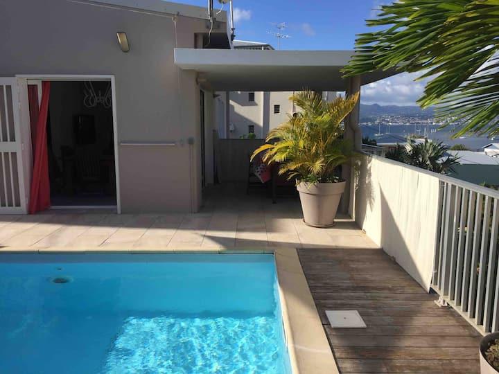 Ô Villa -T3 piscine privée- Plages