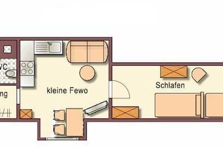 Kleine FeWo im Fachwerkhaus - Appartamento