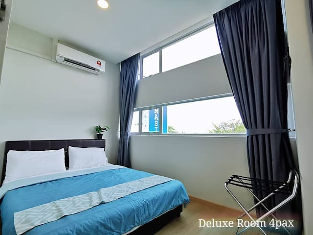 ☘️Kuantan Homestay -4 pax Room (NEW in Town Area)