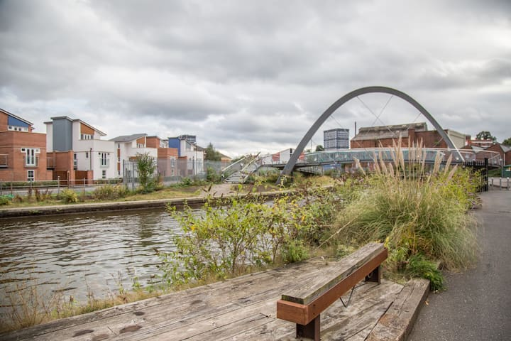 Canal Side Loft Apartment - Coventry - Wohnung