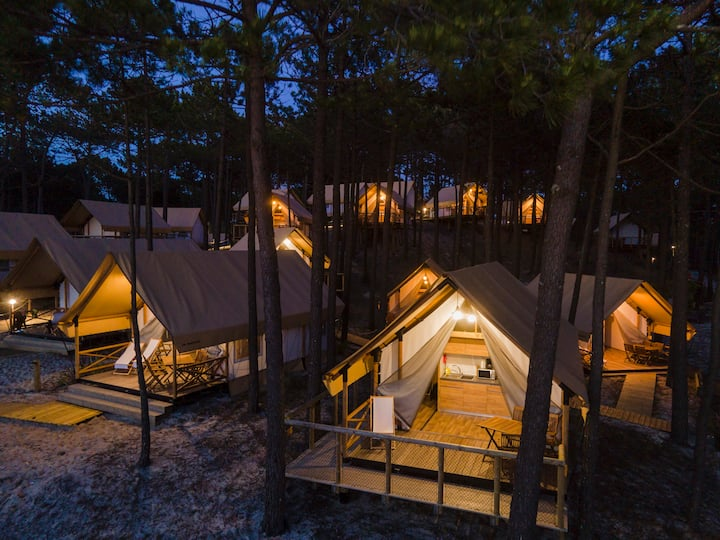 Glamping Luxury Family
