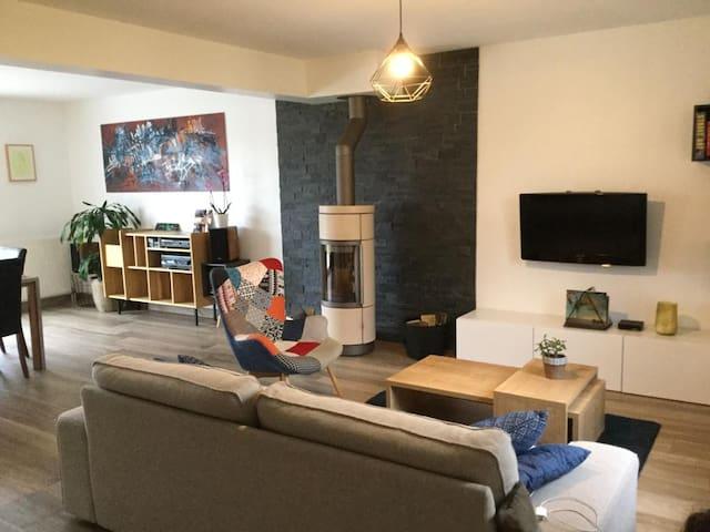 Maison spacieuse et lumineuse