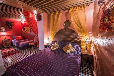 Riad Dar TAMO Triple Room - Romantique - Fès