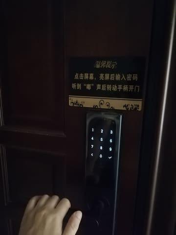 密码锁,自助入住,密码请问房东索要
