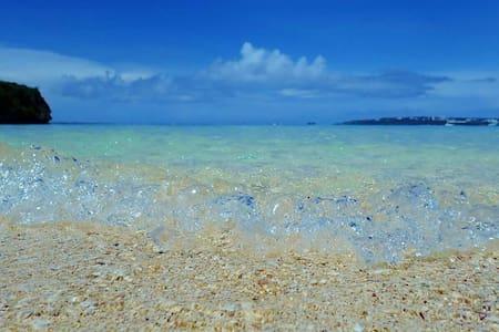 美ら海水族館・古宇利島までのアクセス抜群!今大注目の名護市内に格安で泊っちゃお~^^WiFi有り - Nago
