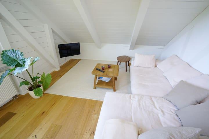 Schöne Wohnung mit Blick ins Grüne