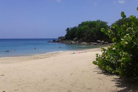 villa vacance 400 mètres de la mer - Deshaies