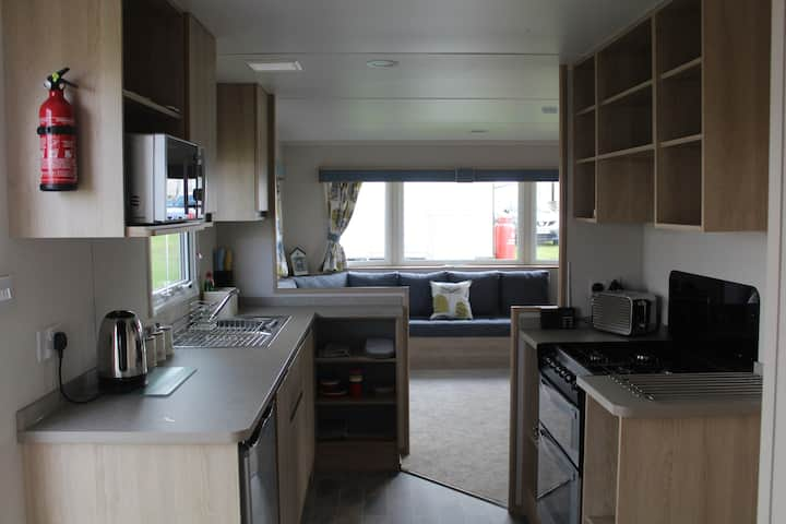 Brand new (2021) caravan at Haven, Perran Sands