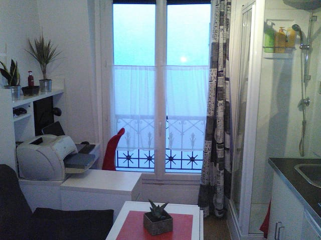 nice room for one weekend - Paris-15E-Arrondissement - 아파트