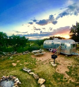 Llano River - Vintage Airstream - Site 39