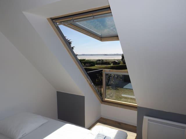 Maison entièrement rénovée, vue mer - Plounéour-Trez - House