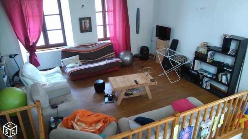Chambre dispo dans coloc à Montferrand - Clermont-Ferrand - Huis