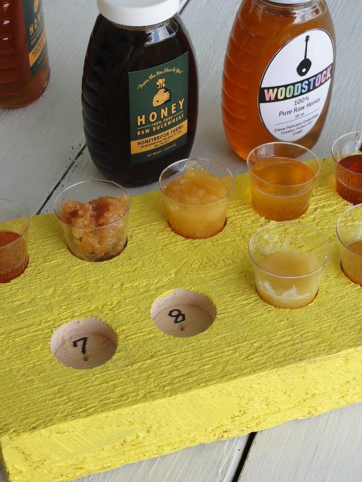 10 types of honey