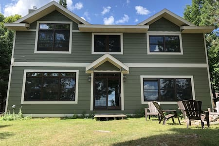 WEST HAGERMAN LAKE HOUSE (Iron River, MI):  Sleeps 12, comes with boats