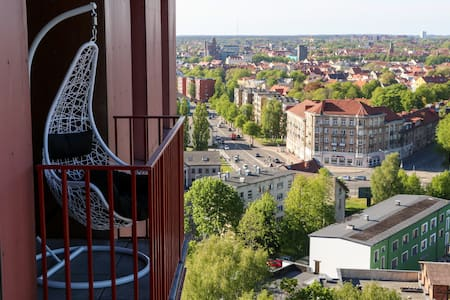 Sun & Sky Klaipeda Apartments With Old Town  View
