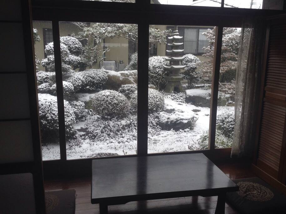snow view in Feb 2016