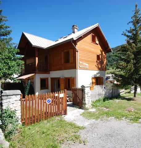 Chalet Sapin 1 side slopes 11 pers | Serre Chevalier Villeneuve | Alpes France - La Salle-les-Alpes - Chalet